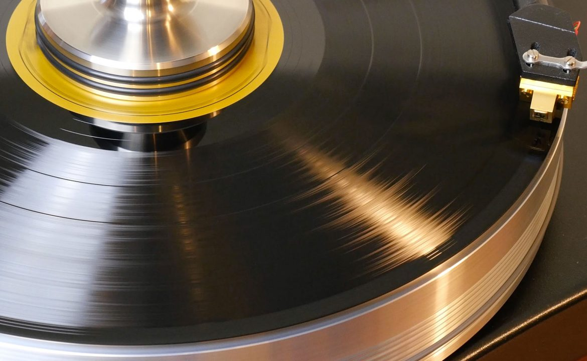 vinyl lp record handling and care